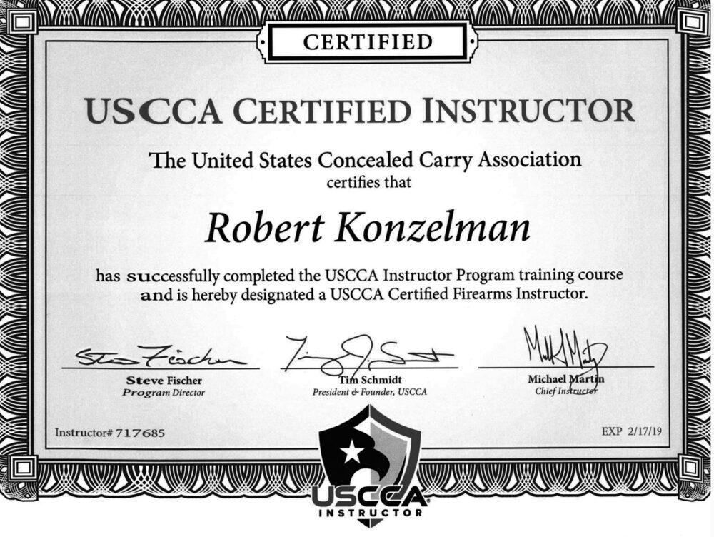Firearms Safety Certificate - Best Design Sertificate 2018