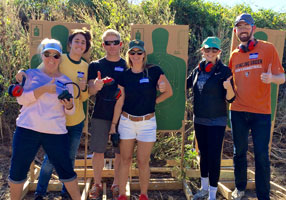 Waco gun training classes family