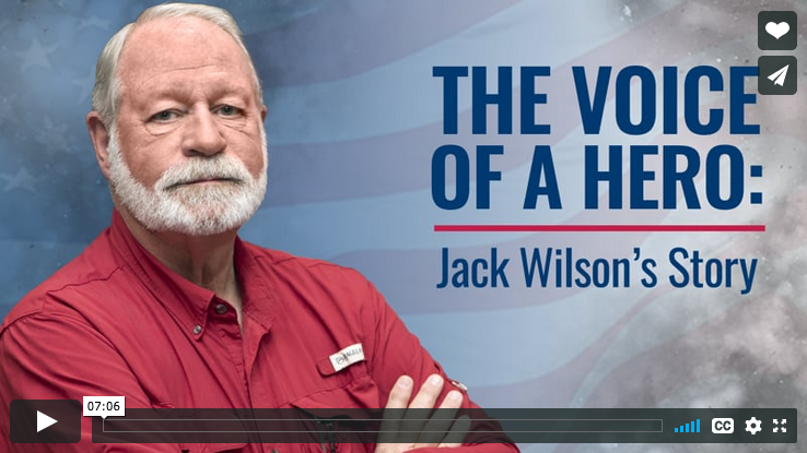 In a matter of seconds, Jack Wilson's life was forever changed when a gunman opened fire at his church on December 29, 2019.