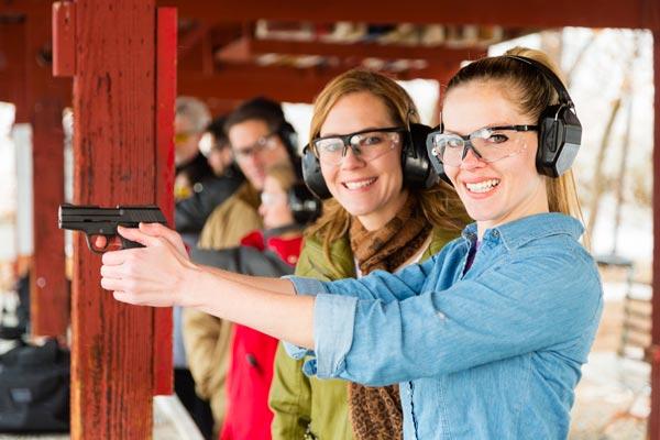 women enjoy gun training waco gun classes